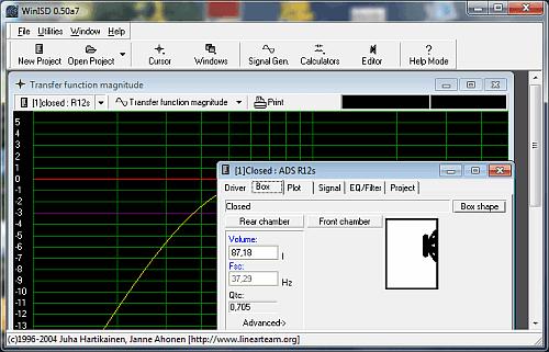 Download WinISD Pro programa para cálculo de caixas acústicas pata subwoofers