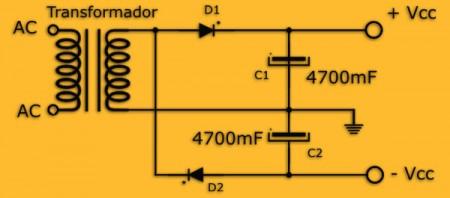 dobladordiag 450x198 Transforme suas caixinhas do pc em um sistema 2.1 (filtro p/ sub) Filtros Circuitos Áudio