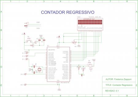 esquematico 450x316 Contador Regressivo com PIC16f877