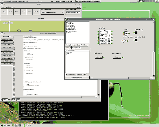 Download Gpsim software simulador completo para microcontroladores PIC gratuito open source