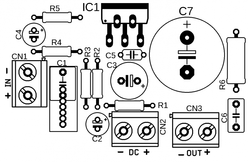 Tda2040 audio amplifier silk screen tda2040