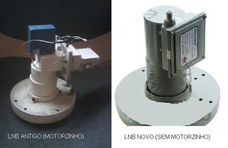 lnb motor lnbf mulitponto 450x292 Troque seu lnb por um lnbf banda c e dê adeus ao polo rotor na sua antena parabólica Tutorial parabólica Notícias dicas como ligar uma antena parabolica Dicas Antena