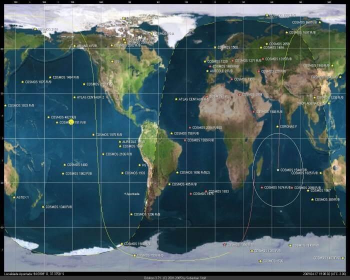 Download Orbitron 3.71 Sistema de rastreamento de satélites em tempo real