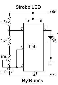 555 O integrado C.MOS 4017 e suas aplicações Tutoriais Dicas