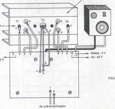 Módulo de potência Profissional 90 a 130 watts 3 Módulo de potência Profissional 90 a 130 watts RMS em 8 ohms por canal Circuitos Áudio