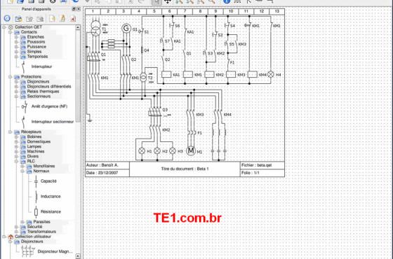 Download qelectrotech software editor para criar esquemas elétricos para windows e linux