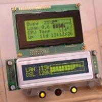 Usando display lcd no pc casemod 7