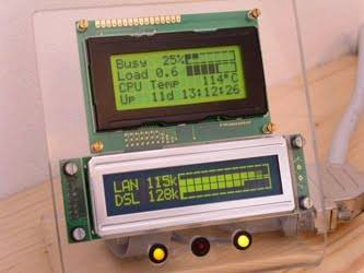 , Usando display LCD no PC (Casemod)