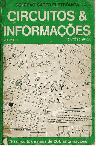 Download livro em PDF Circuitos e Informações - Volume 3 - Newton C. Braga