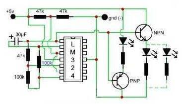 led fade op amp LED Color Fade Effect (Casemod)