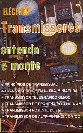 Download livro em PDF Transmissores – Entenda e Monte vol. 1