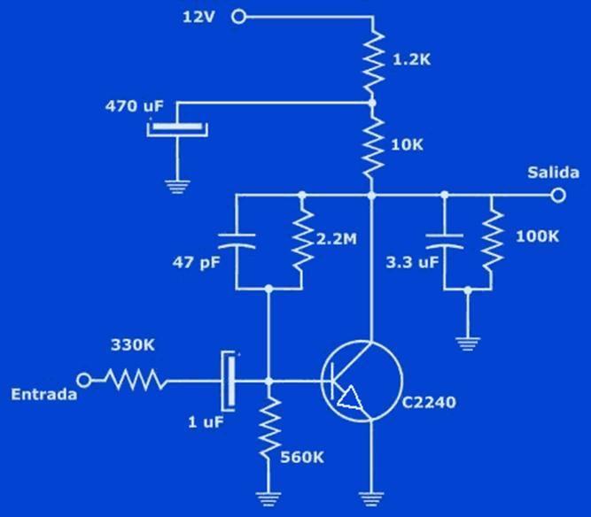 preamplsimples Pré amplificador Simples (COMPLETO COM SUGESTÃO PCB PARA ESTÉREO) (atualizado 08/02) Pré amplificadores placa de circuito impresso Circuitos Áudio Amplificadores amplificador de audio
