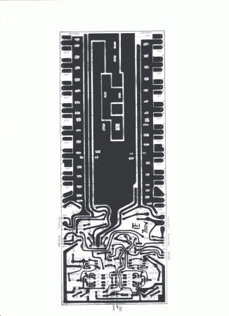 Lado dos componentes para orientar na montagem