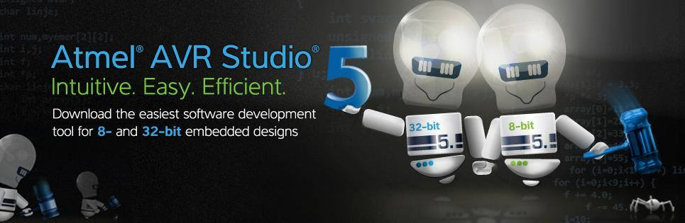 Download IDE AVR Studio 6 - Microcontroladores Atmel AVR - TE1