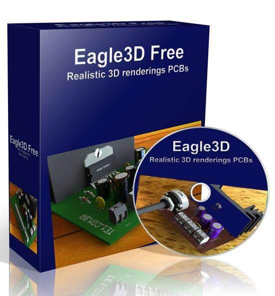 Download Eagle 3d 2011 - última versão do programa para gerar imagens 3d usando o Eagle