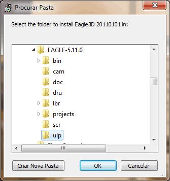 eagle3d 2 Tutorial instalando e configurando o Eagle3D + Pov Ray    parte 1 Tutorial Software de eletrônica placa de circuito impresso Eagle Dicas Desenho circuito impresso