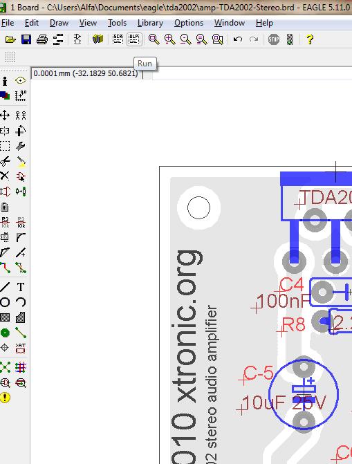 eagle3d 3 Tutorial instalando e configurando o Eagle3D + Pov Ray    parte 1 Tutorial Software de eletrônica placa de circuito impresso Eagle Dicas Desenho circuito impresso