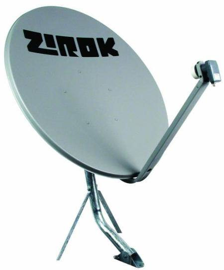 antena banda Ku Zirok 90cm Tv digital via satélite FTA usando sua parabólica banda C ou antena banda KU   de Graça, sem pagar assinatura tv digital Tutorial Notícias dicas como ligar uma antena parabolica Dicas Antenas