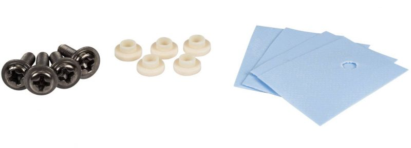 Thermal pad isolante mica tda7294 prafuso
