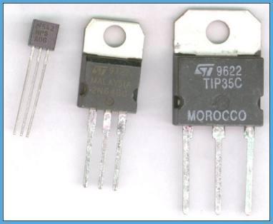 transistores codigos dos transistores