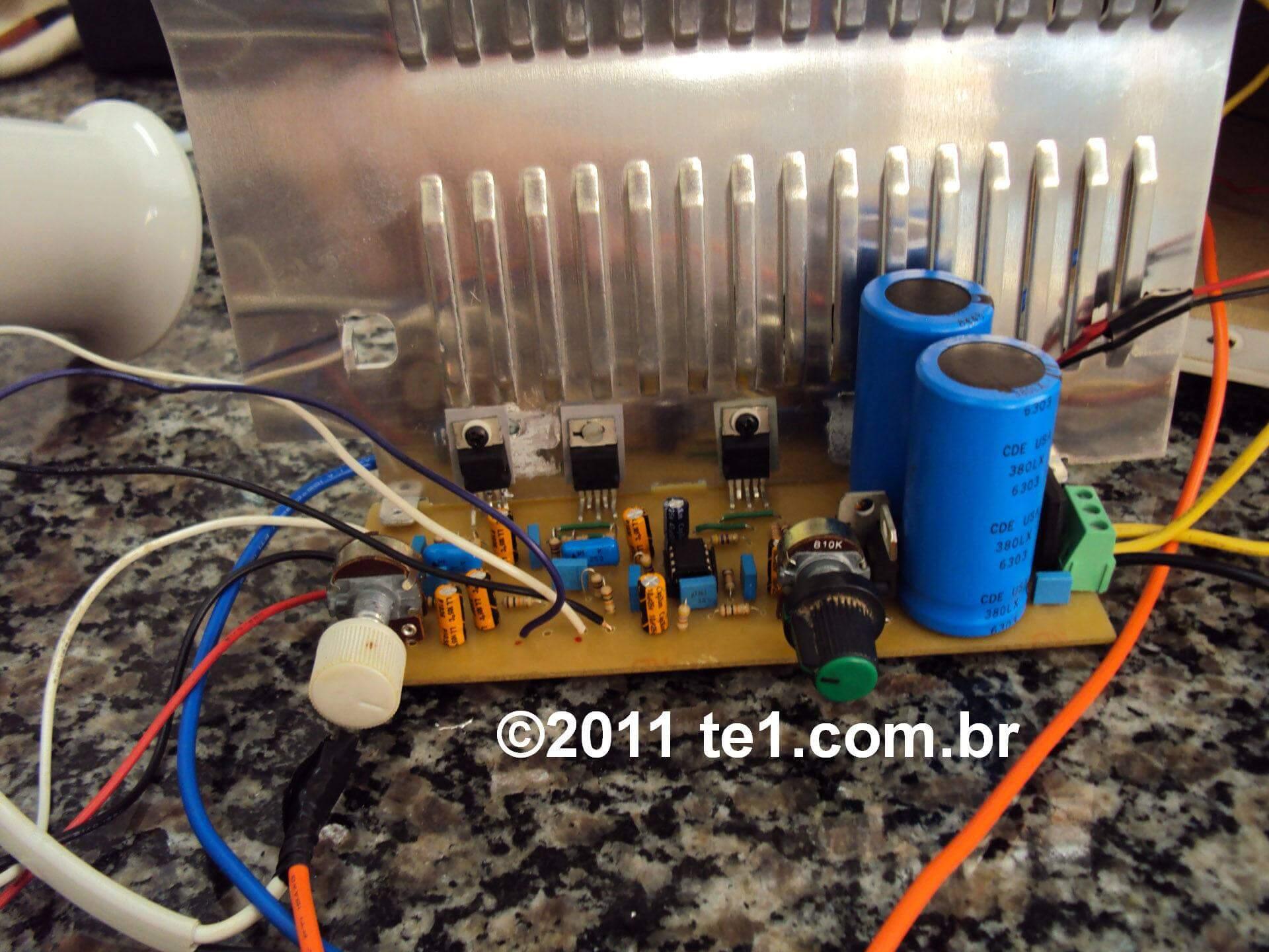 Circuito De Amplificador Udio Com Tda2030 21 3 X 18 Watts 20w Audio Amplifier Circuit Using Tda1552q Subwoofer