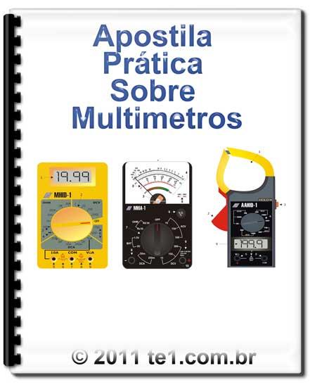 Download Apostila prática de multímetros - by Eletronica.org