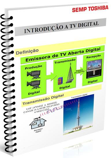 apostila semp toshiba introducao tv digital Download Apostila  Semp Toshiba introdução a tv digital DC2007M DC2008M tv digital Tutoriais pdf Download Dicas Apostilas