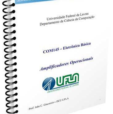 Download apostila em pdf sobre amplificadores operacionais - eletrônica básica - universidade federal de lavras