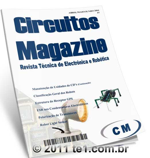 Download Revista sobre eletrônica e robótica em PDF grátis Circuito Magazine volume 7 - Última edição