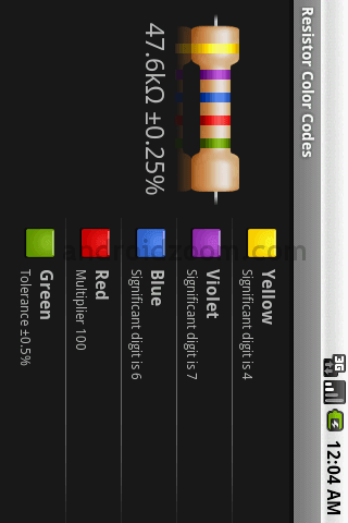 , Download Resistor Calculator aplicativo para Android