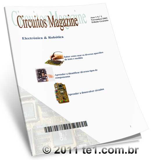Download revista de eletrônica e robótica portuguesa em PDF Circuito Magazine volume 2