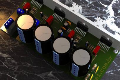 Brutus – amplificador de potência estéreo com tda7294 em ponte (bridge)