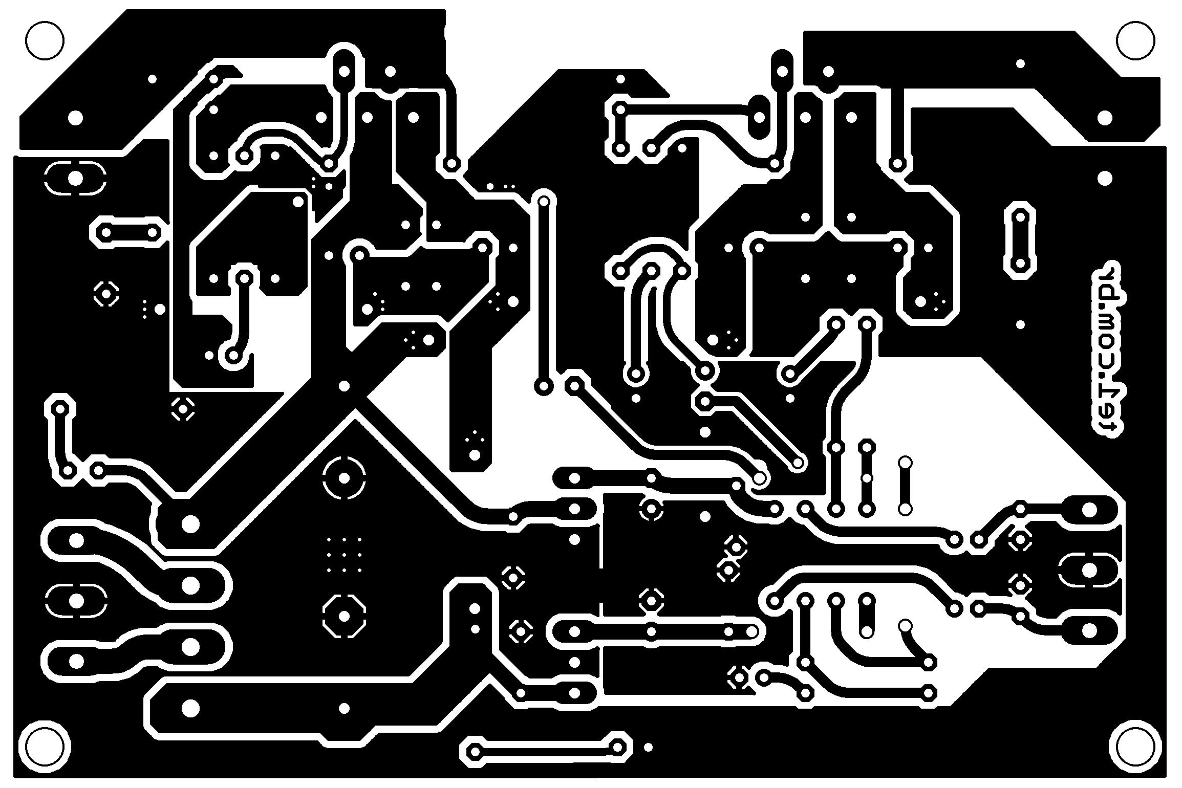 lm1875 amplificador estereo pcb Amplificador de potência estéreo com LM1875 e pré amplificador por NE5532 Pré amplificadores LM Circuitos Áudio