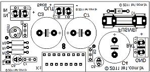 tda 1562 amplificador audio silk Circuito de amplificador automotivo com CI TDA1562   70 Watts tda Circuitos Automotivo Áudio