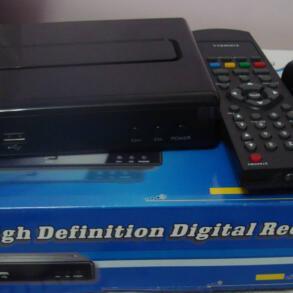 Review do Kit completo para TV digital da loja GrandeEletro – Conversor Zinwell  ZBT-601 + Antena UHF Proeletronic PQ45-1040 + Kit cabo Cabletech