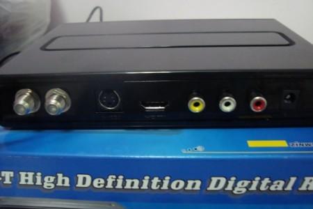 Conversor Zinwell ZBT 601 hdmi 450x300 Review do Kit completo para TV digital da loja GrandeEletro   Conversor Zinwell  ZBT 601 + Antena UHF Proeletronic PQ45 1040 + Kit cabo Cabletech tv digital Dicas Antenas