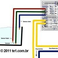 Esquema Ilustrativo De Ligação Do Sensores Do Sistema De Bomba Automática