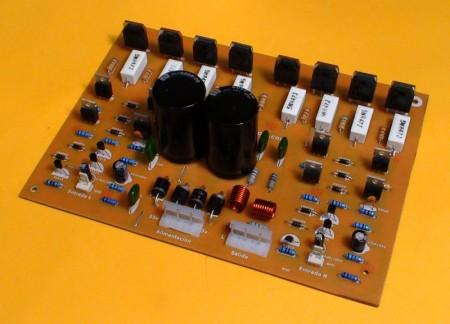 amplificador audio 400Watt potente 450x324 Circuito de amplificador de potência com Transistores 2SC5200 e 2SA1943 Circuitos Áudio