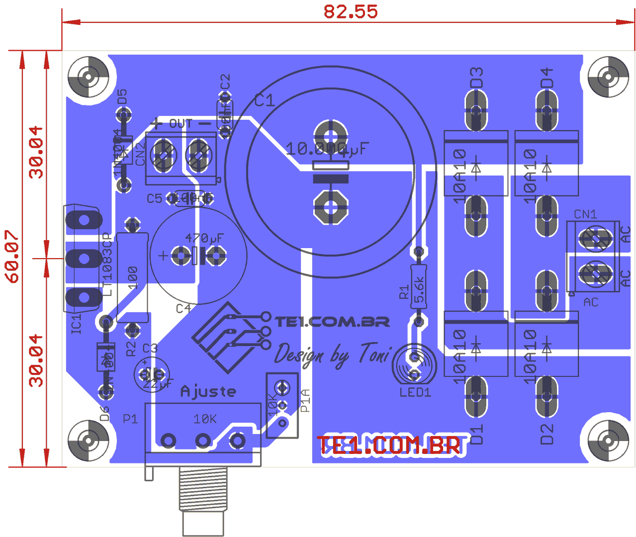 7805 5v Linear Voltage Regulator