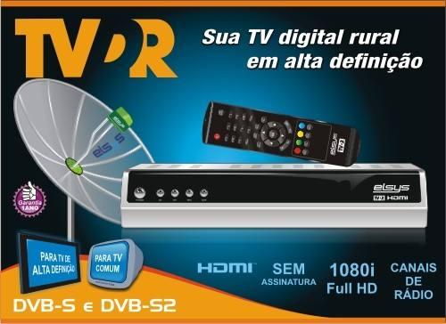 Elsys TVDR receptor HD para Globo digital Rural realmente compensa adquirir um?