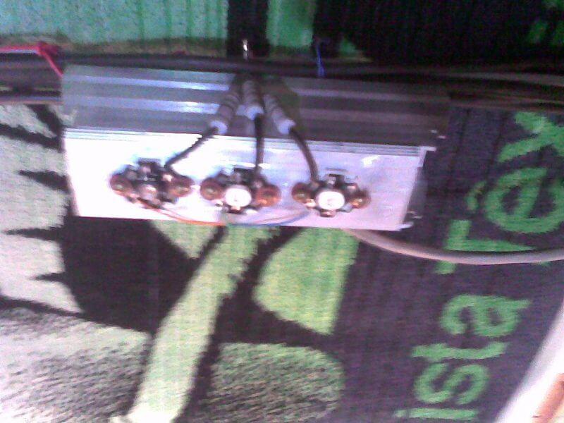 Esquema Dimmer Led Rgb 3 Watts Detalhe Dos Leds