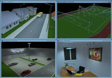 dialux software iluminacao Download DIALux evo 5.2   Software para projeto de iluminação Software de eletrônica Iluminação Download Controle