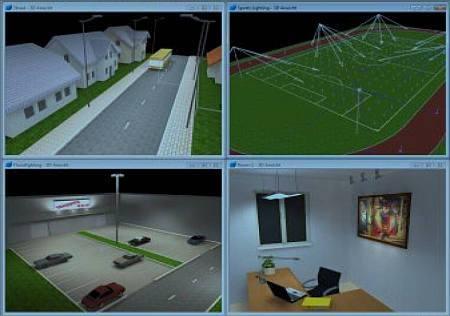 dialux software iluminacao Download DIALux evo 5.2   Software para projeto de iluminação Software de eletrônica Iluminação Download Controle