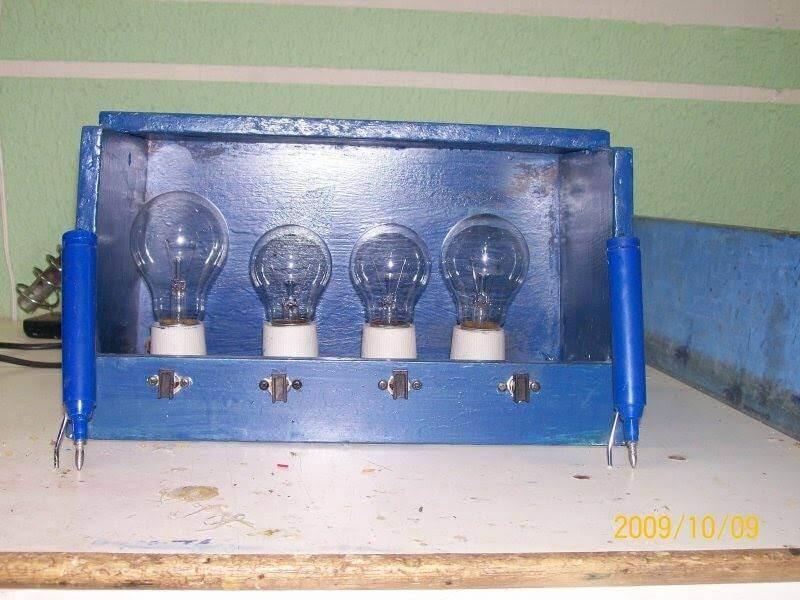 , Vídeo tutorial – passo a passo como montar uma lâmpada série