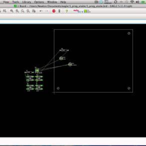 Curso Eagle – Parte 16 – Comandos Route e Ripup do Board
