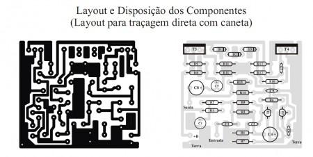 pl10501 450x226 Amplificador PL1050, amplificador sensivel, com 50 W de saída
