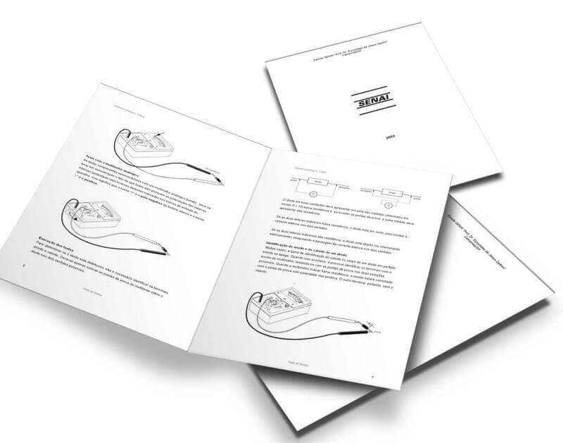Download Apostila Laboratório De Eletrônica Analógica Do Senai Interessante Aos Estudantes E Hobbystas De Eletrônica