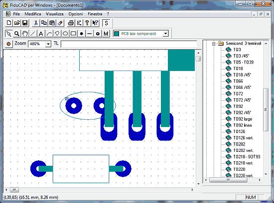Download FidoCAD - Software italiano para desenho de esquemas e pcb