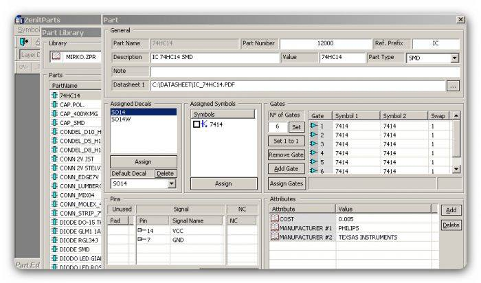 , Download ZenitPCB suite – Software CAD para PCB