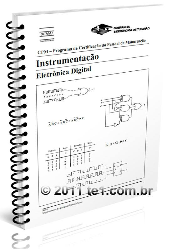 apostila eletronica digital senai download Download apostila de eletrônica digital em PDF do Senai   Programa de Certificação do Pessoal de Manutenção   Instrumentação Tutoriais pdf Download Curso Apostilas